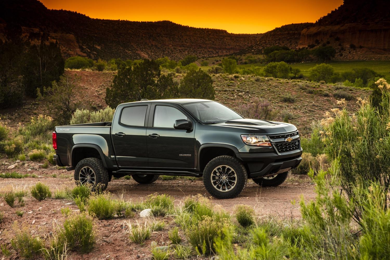 2018 Chevrolet Colorado Pictures  Gm Authority