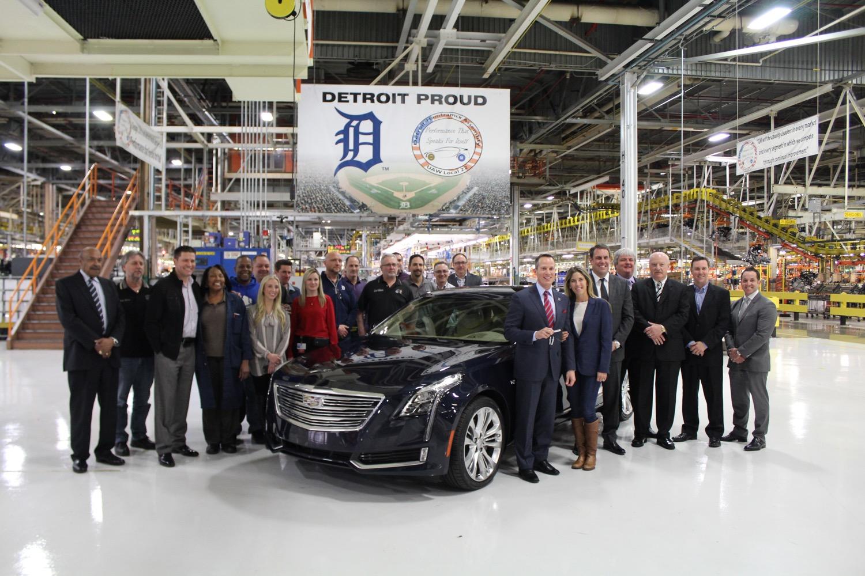 Image result for photos of General Motors' Detroit-Hamtramck plant i