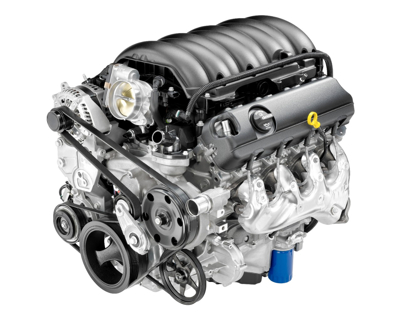 hight resolution of gm 6 2l v8 ecotec3 l86 engine 2