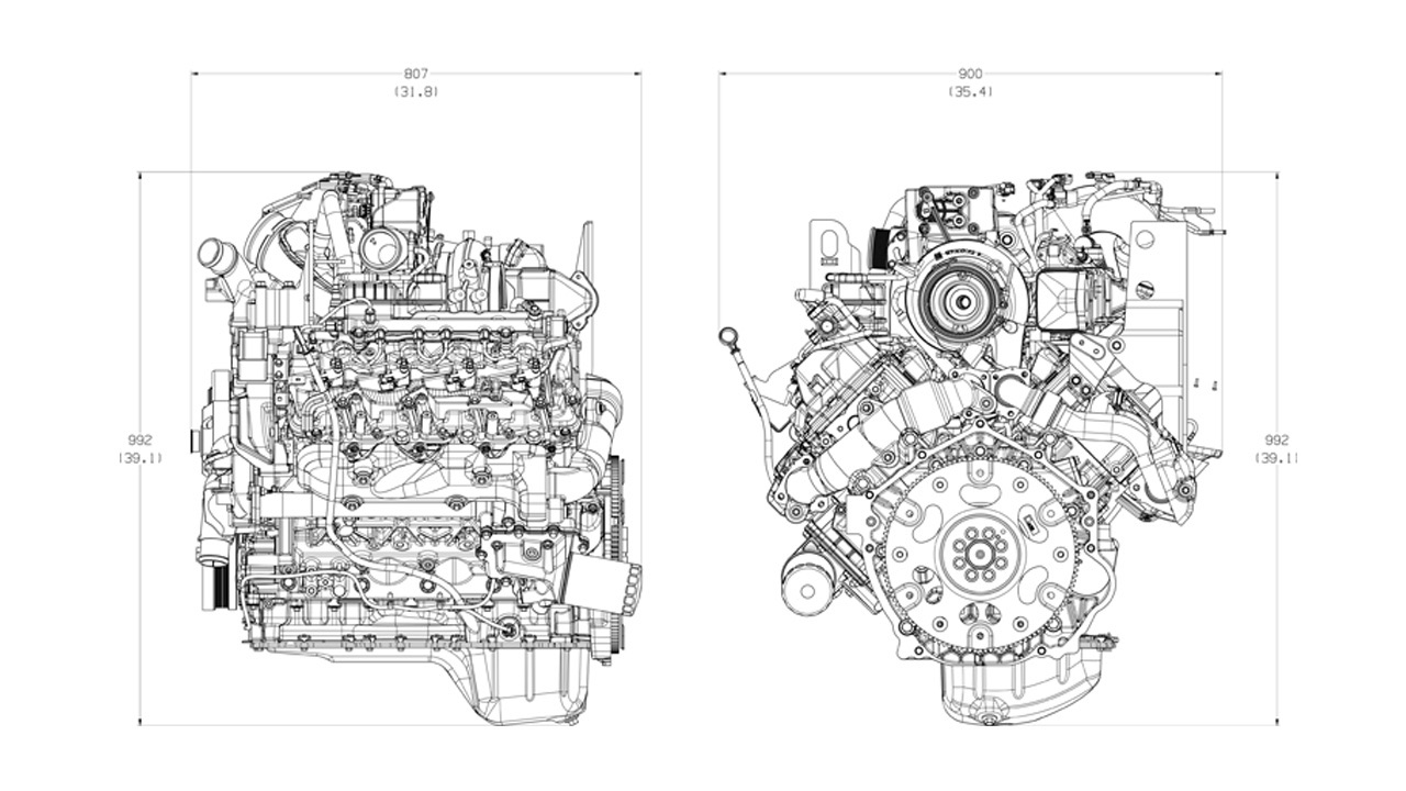 GM 6.6L L5P V-8 Turbo Diesel Duramax Engine Info, Specs