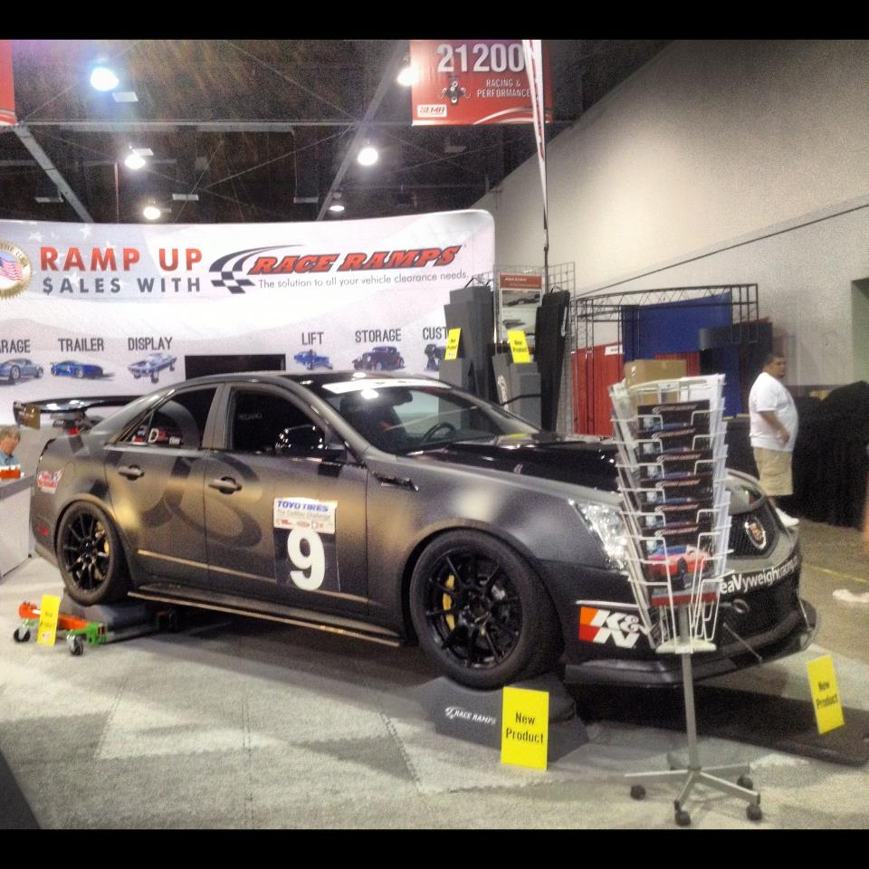 hight resolution of sema 2012 night hawk race ramps booth