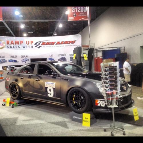 small resolution of sema 2012 night hawk race ramps booth