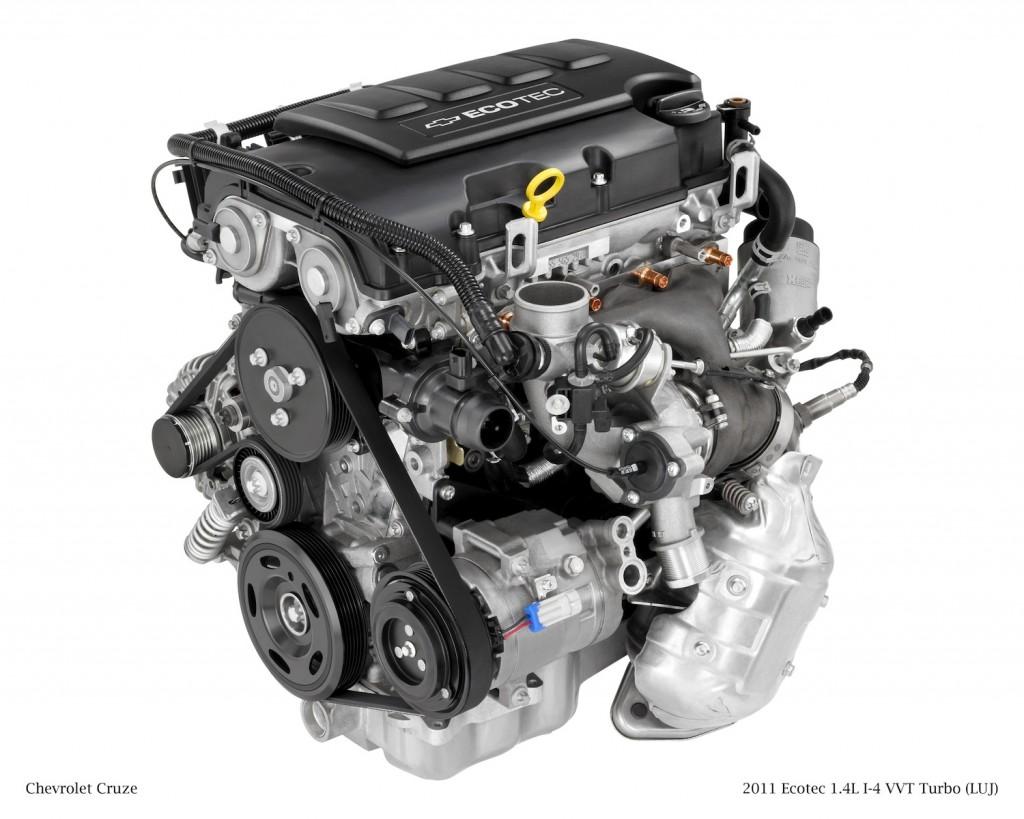 GM 1.4 Liter Turbo I4 Ecotec LUJ & LUV Engine Info, Power