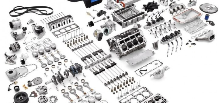 Wordless Wednesday: These Are The Parts Of GM's LS9 Engine