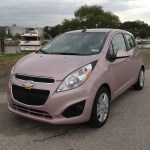 What It S Like To Drive A Techno Pink 2013 Chevrolet Spark First Drive Gm Authority