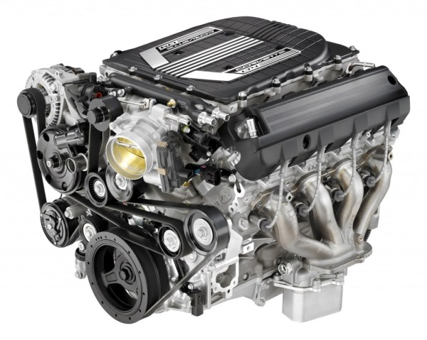 2015 Chevrolet Corvette Z06 Engine