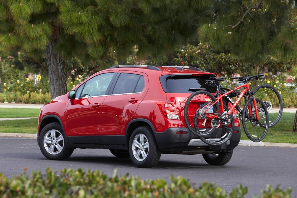 2015 Chevrolet Trax Bike Rack