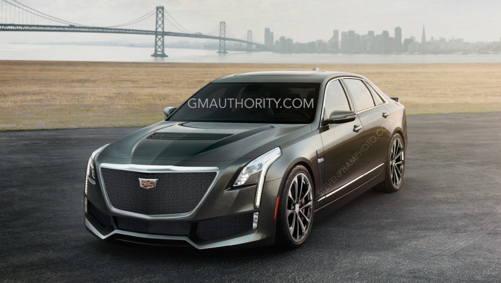 Nomad Iphone X Wallpaper 2016 Cadillac Ct6 V Photo Rendering Gm Authority