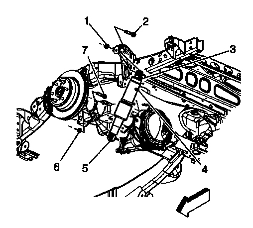 2002 Chevy Avalanche Front Suspension Diagram, 2002, Free