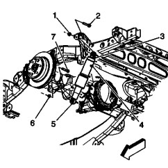2005 Chevy Equinox Suspension Diagram Jayco 12 Pin Trailer Plug Wiring Avalanche Shock Absorber Replacement Gm Authority The Rear On A C Model Showing Outboard