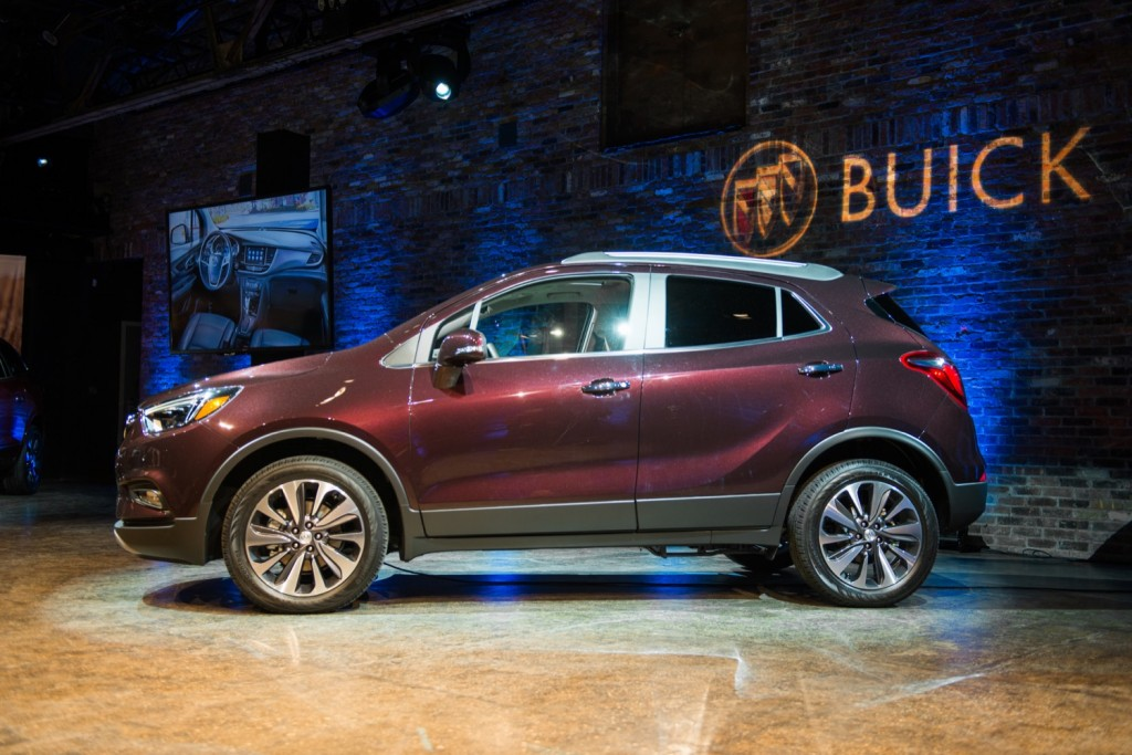 2018 Buick Encore Gets New Color Capless Fuel Filler GM