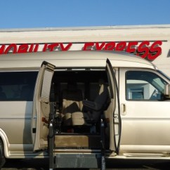 Wheelchair Express Diy Bungee Chair Swing Chevy Mobility Works Lift Recall Gm Authority Ricon Chevrolet 2500 Van