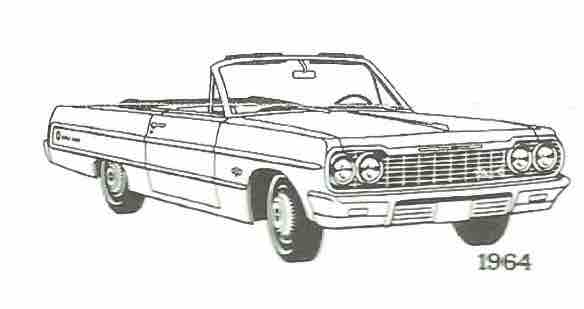 55 Chevy Coloring Pages