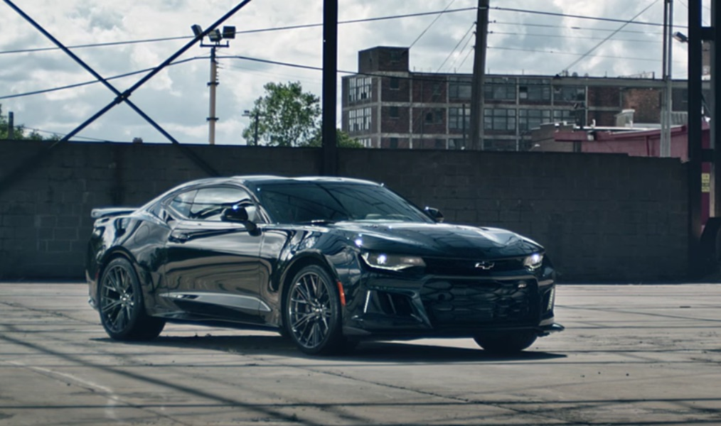 Watch 2017 Chevy Camaro ZL1 Does A Burnout GM Authority