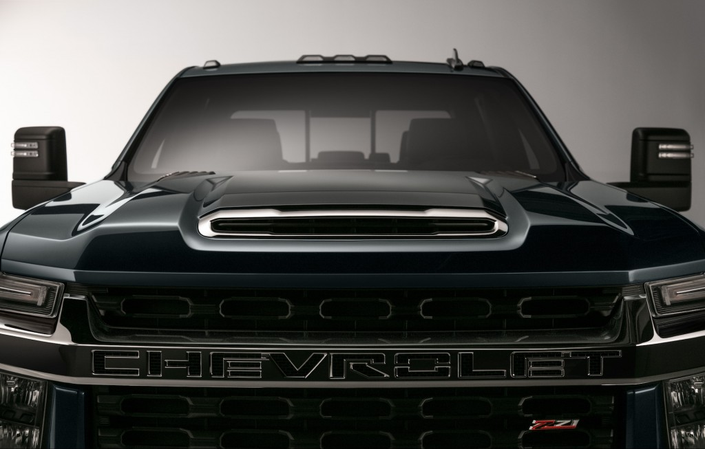 2020 Chevrolet Silverado 2500HD and 3500HD teaser