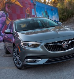 2018 buick regal sportback media drive austin texas exterior 016 [ 2500 x 1666 Pixel ]