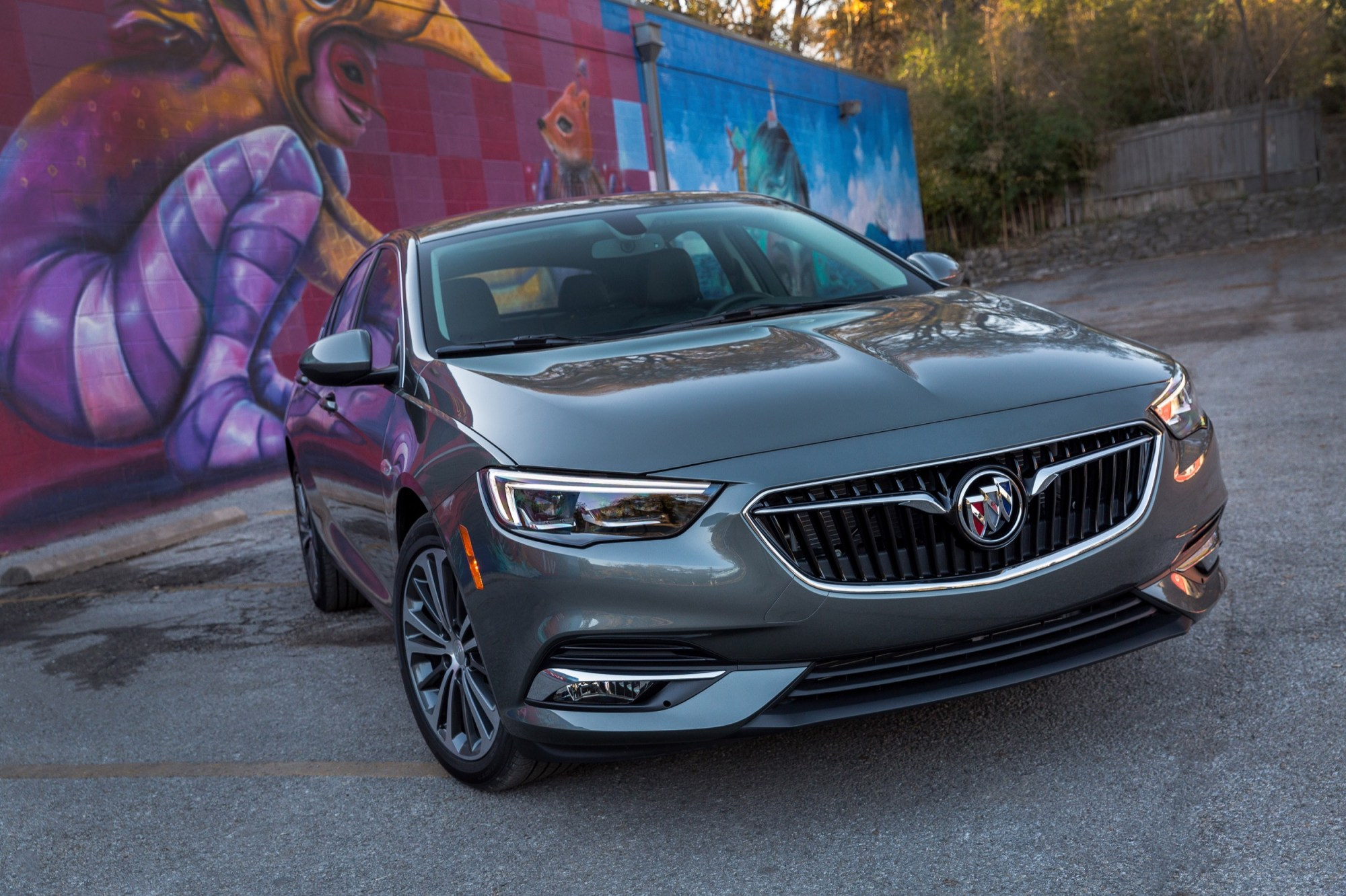 hight resolution of 2018 buick regal sportback media drive austin texas exterior 016
