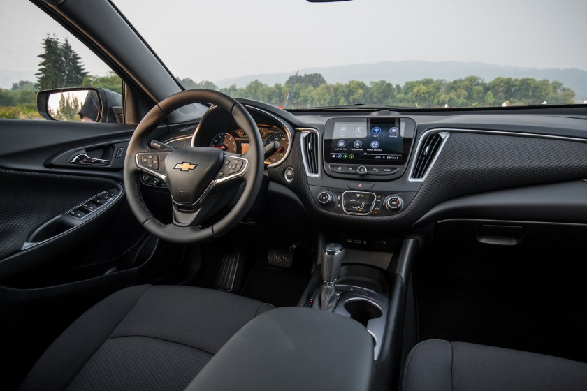 2019 Chevrolet Malibu RS First Drive Interior 2019 malibu