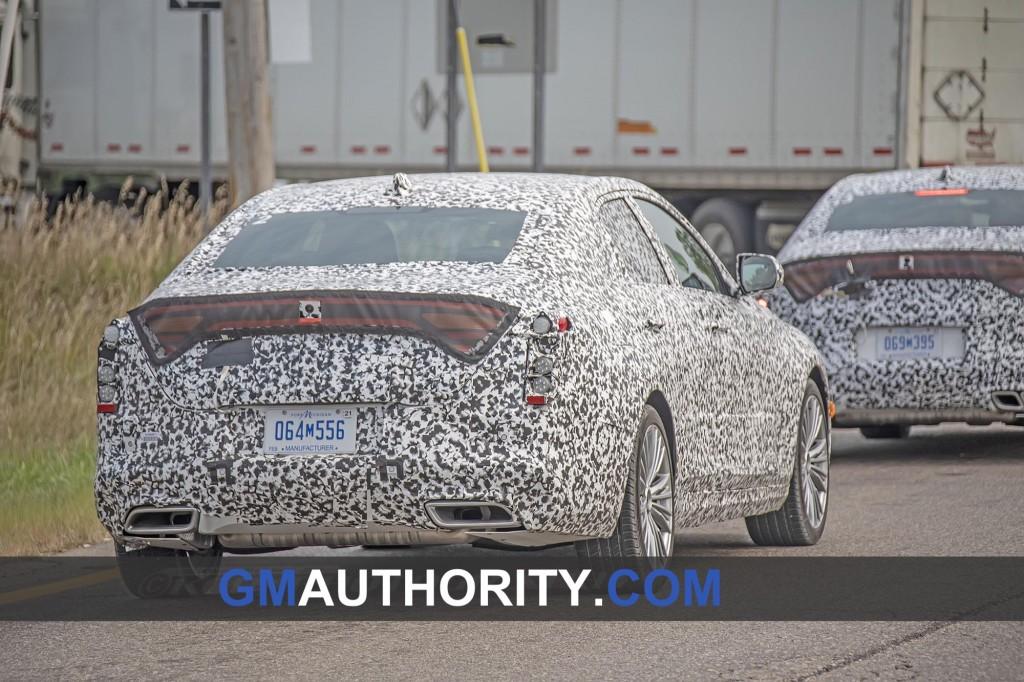 2020 Cadillac CT4 Premium Luxury Spy Shots - Exterior - August 2018 007