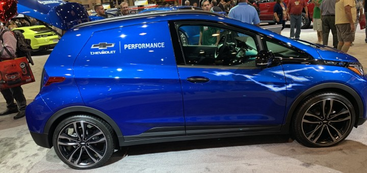 Chevy Bolt Ev Reimagined As Race Support Car Gm Authority