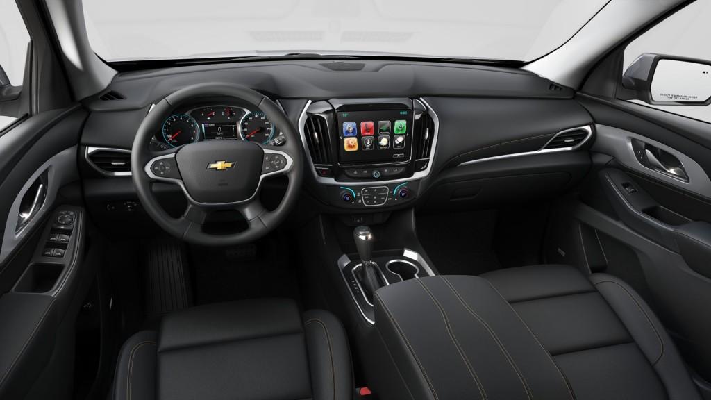 2019 Chevrolet Traverse Premium Package Interior 001