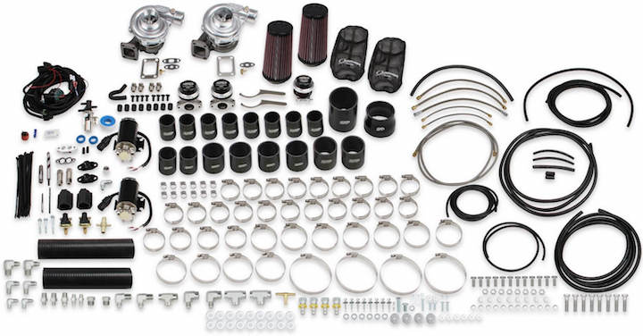 STS Outlines Rear Mount Twin Turbo Kit For C5 Corvette