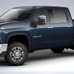 2020 Chevrolet Silverado Hd Northsky Blue Metallic Color Gm Authority