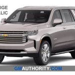 Here Are The 2021 Chevrolet Tahoe Exterior Colors Gm Authority