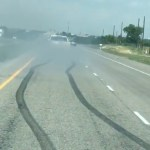 Chevrolet Silverado Does Ridiculous Highway Burnout Gm Authority