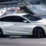 First Photo Of The 2021 Chevy Malibu Sport Edition Gm Authority