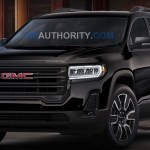 First Photos Of 2021 Gmc Acadia Elevation Edition Gm Authority