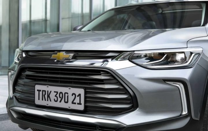 2021 Chevrolet Tracker Colombia exterior 04