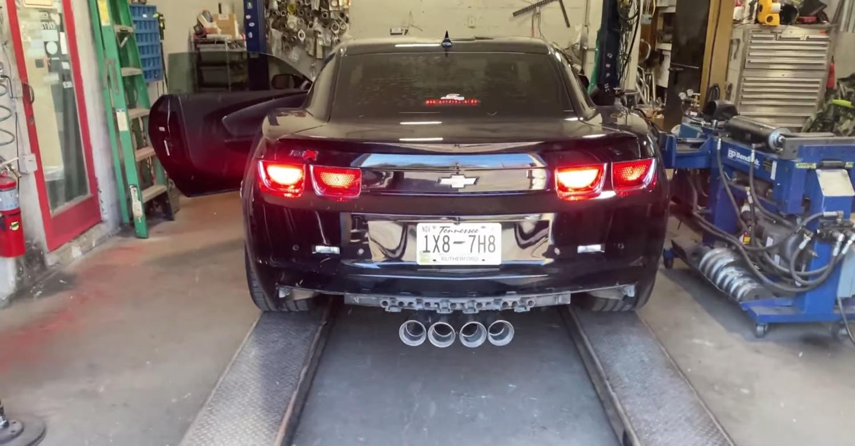 lsx powered chevy camaro gets c7 style