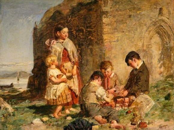 The Past and the Present, William McTaggart / Public domain