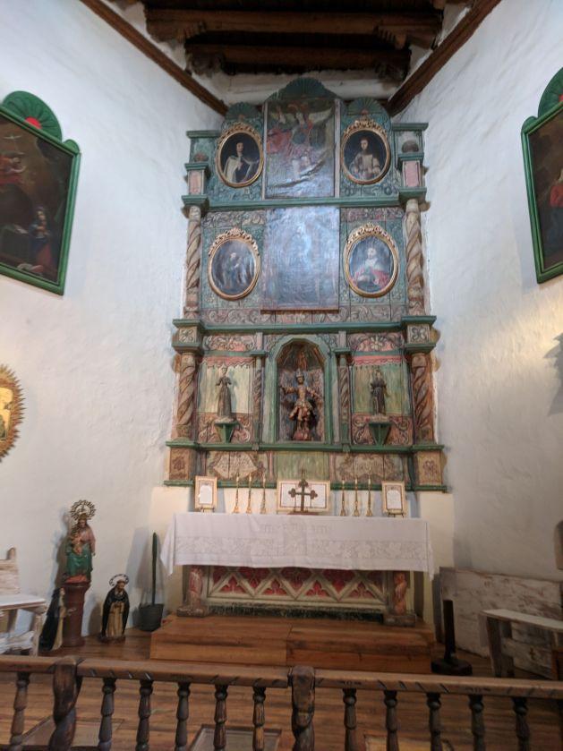 San Miguel Mission interior