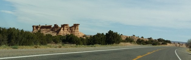 Crumbling Sandstone Towers