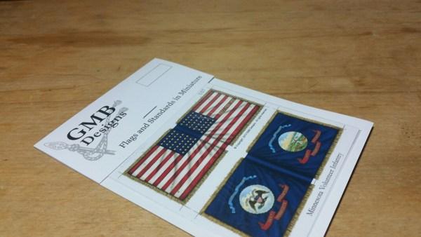 Minnesota Vols. (inc. state flag)