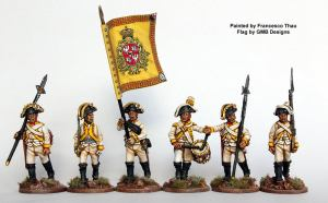 Figures from Perry Miniatures, Flags GMB Designs