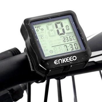 Enkeeo Wired Bike Computer Bicycle Speedometer