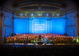 GMCLA at Carnegie Hall - Photo by Gregory Zabilski
