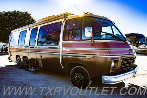 1978 GMC Palm Beach Motorhome For Sale In Willow Park, Texas