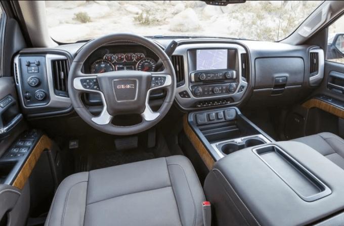 2020 GMC Yukon SLE Interior