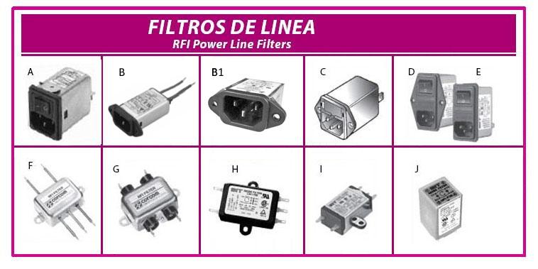 filtros de linea