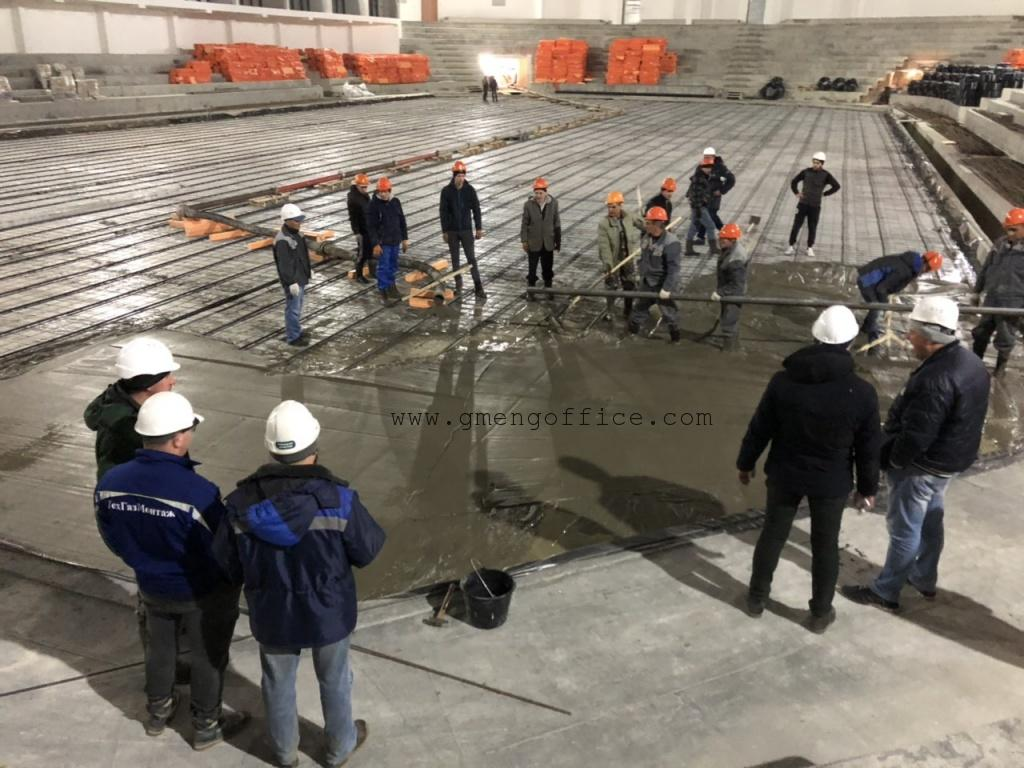 steel and concrete tests