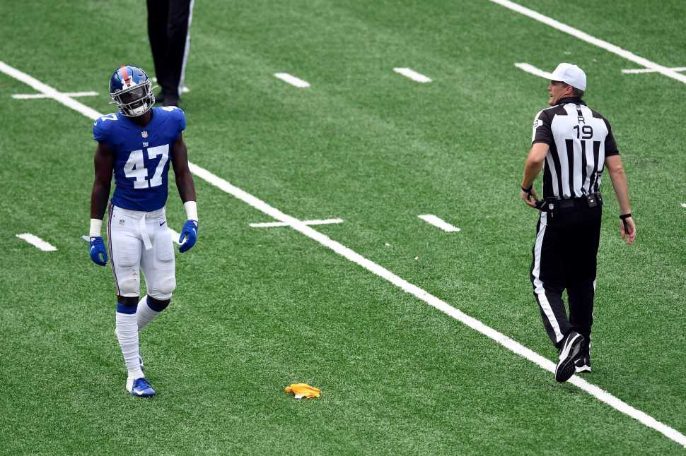 NY Giants rookie Cam Brown emerging as special teams standout