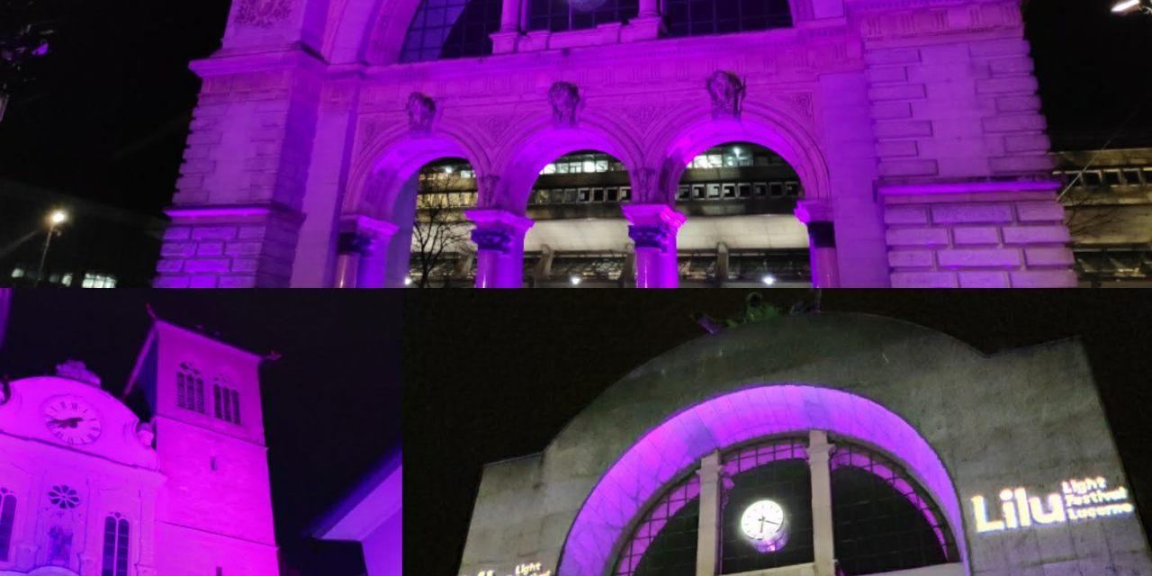 Lilu bezaubert in der Leuchtenstadt Luzern – noch bis am 20.1.19