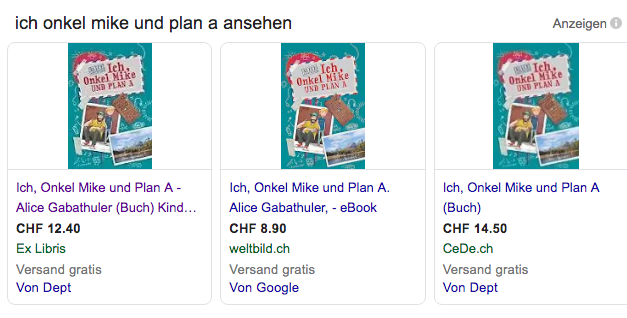 "Rezenzion: ""Ich, Onkel Mike und Plan A"", Alice Gabathuler"