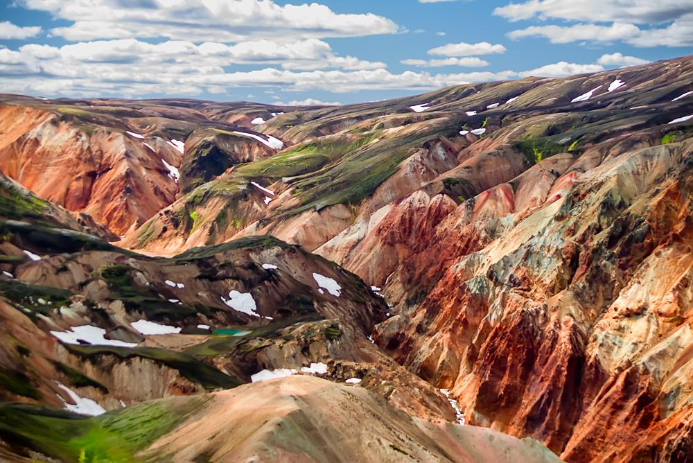 Al centro dell' Islanda, un deserto di lava e ghiaccio