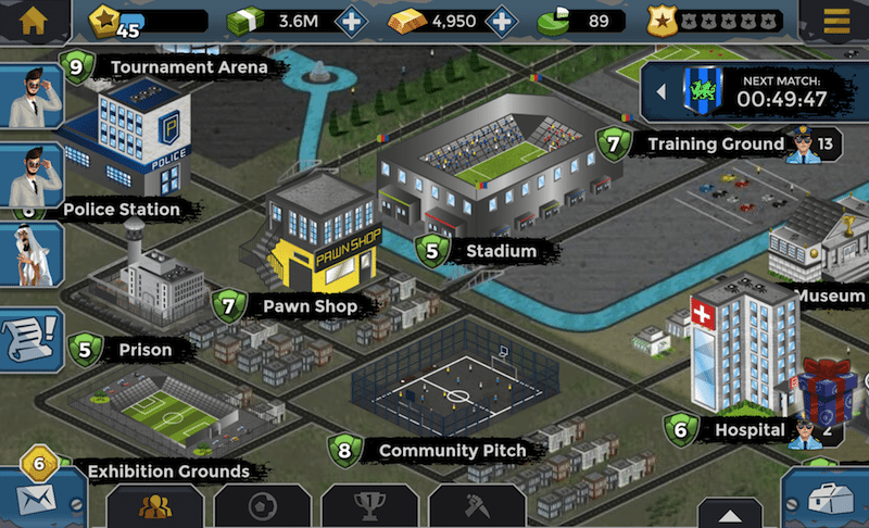 underworld football manager android