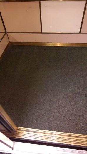 111 Maiden Ln Elevator Carpet After